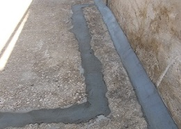 leaking silage clamp repair