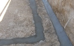 silage clamp repair picture
